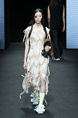 Alexandra Moura - Runway - Milan Fashion Week - Spring...