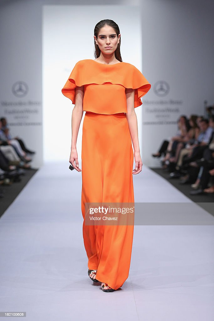 Angel sanchez mercedes benz fashion week mexico spring summer 2014