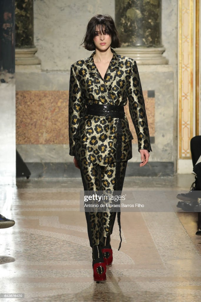 model-walks-the-runway-at-the-angelo-marani-show-during-milan-fashion-picture-id643676420