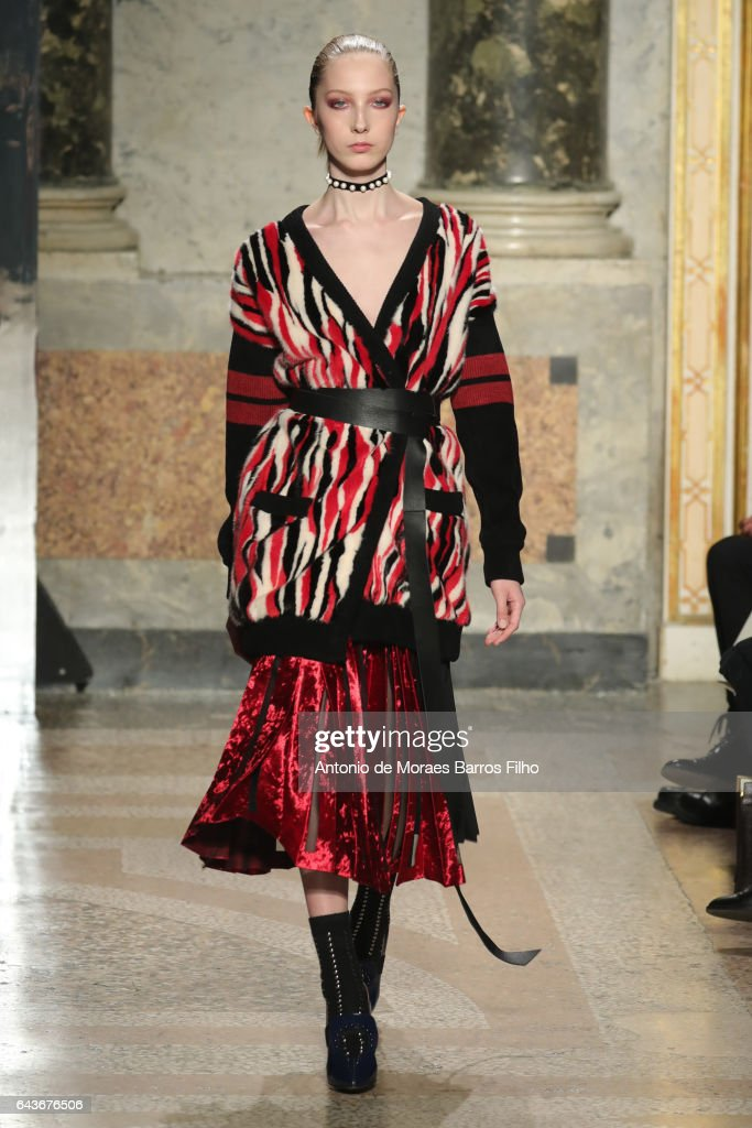 model-walks-the-runway-at-the-angelo-marani-show-during-milan-fashion-picture-id643676506