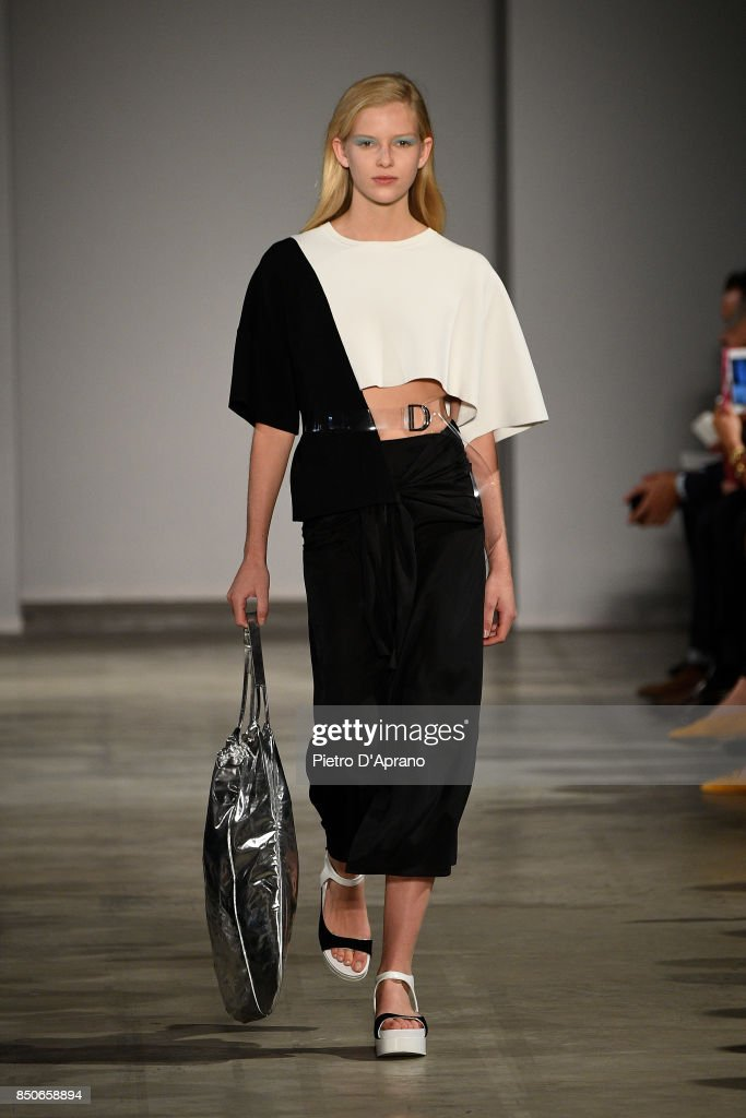model-walks-the-runway-at-the-anteprima-show-during-milan-fashion-picture-id850658894