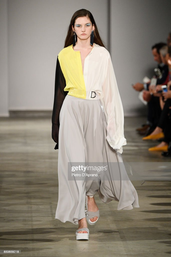 model-walks-the-runway-at-the-anteprima-show-during-milan-fashion-picture-id850659218