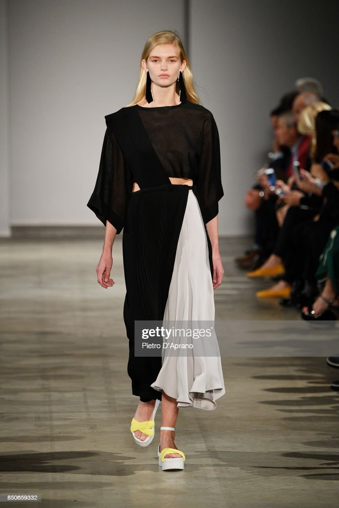 model-walks-the-runway-at-the-anteprima-show-during-milan-fashion-picture-id850659332
