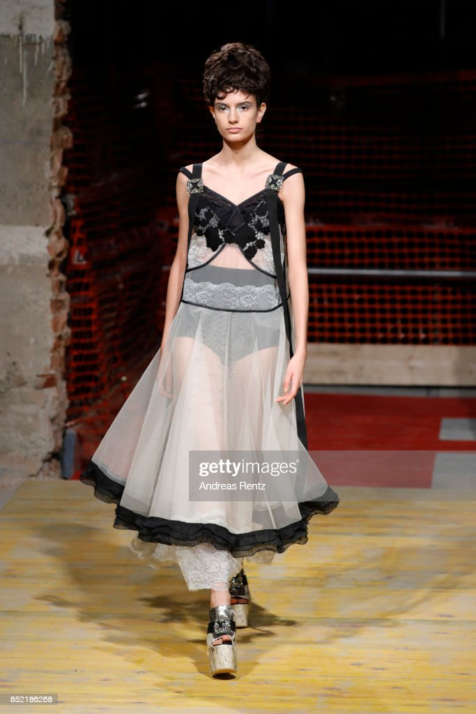 model-walks-the-runway-at-the-antonio-marras-show-during-milan-week-picture-id852186268