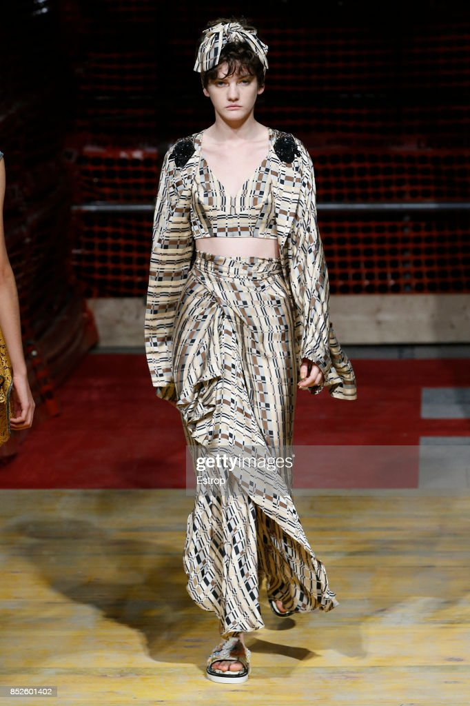 model-walks-the-runway-at-the-antonio-marras-show-during-milan-week-picture-id852601402
