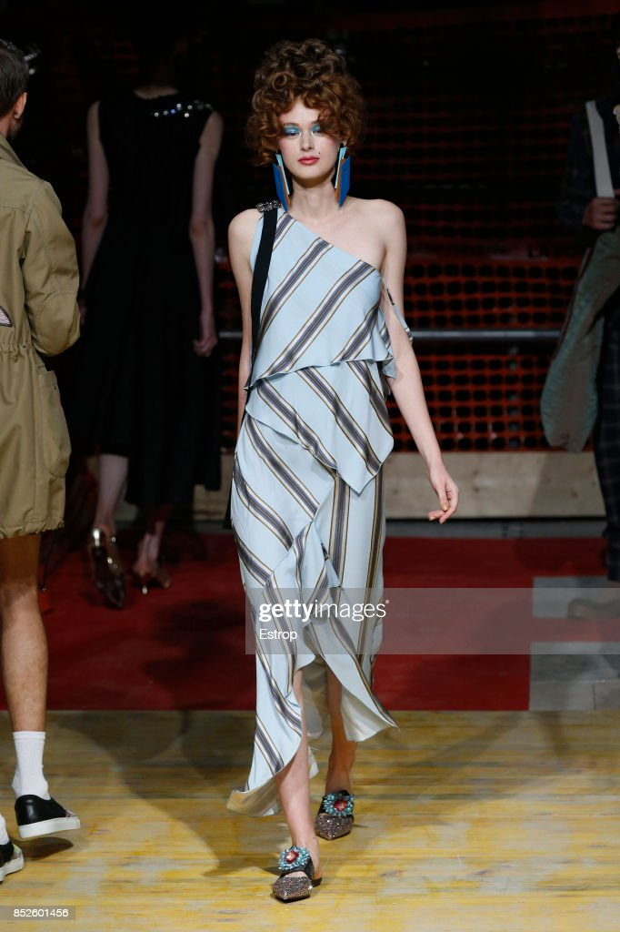 model-walks-the-runway-at-the-antonio-marras-show-during-milan-week-picture-id852601456