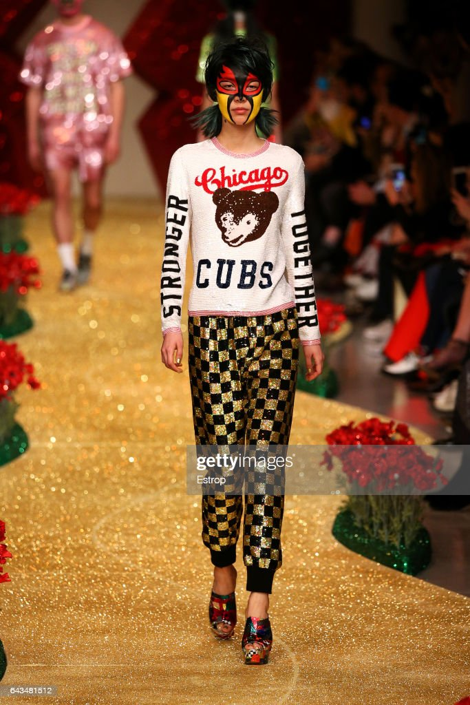 model-walks-the-runway-at-the-ashish-show-during-the-london-fashion-picture-id643481512