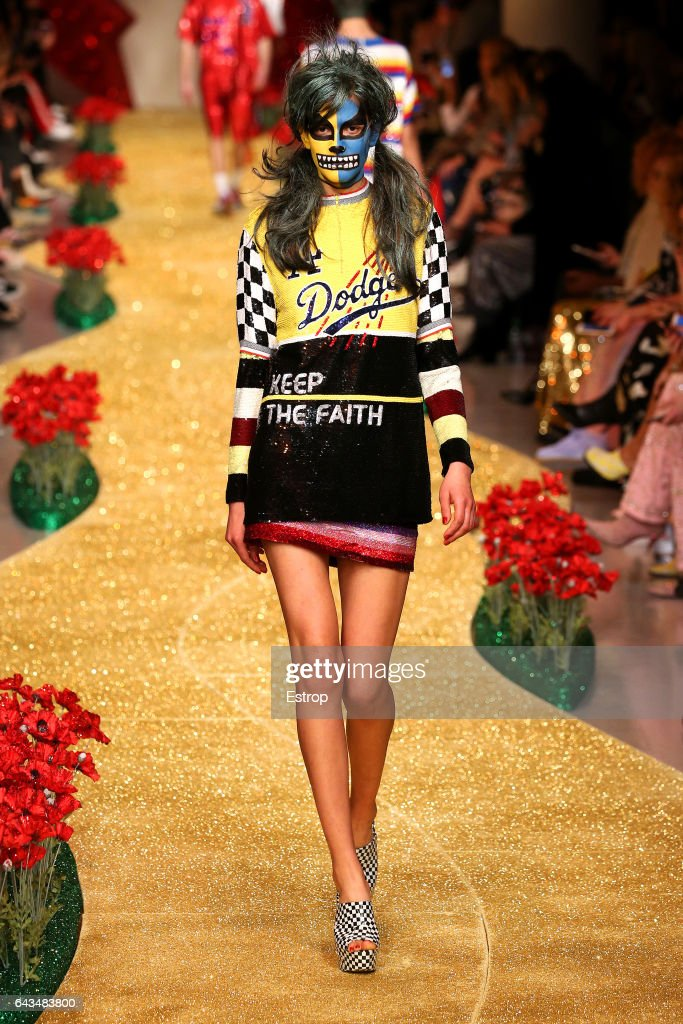 model-walks-the-runway-at-the-ashish-show-during-the-london-fashion-picture-id643483800