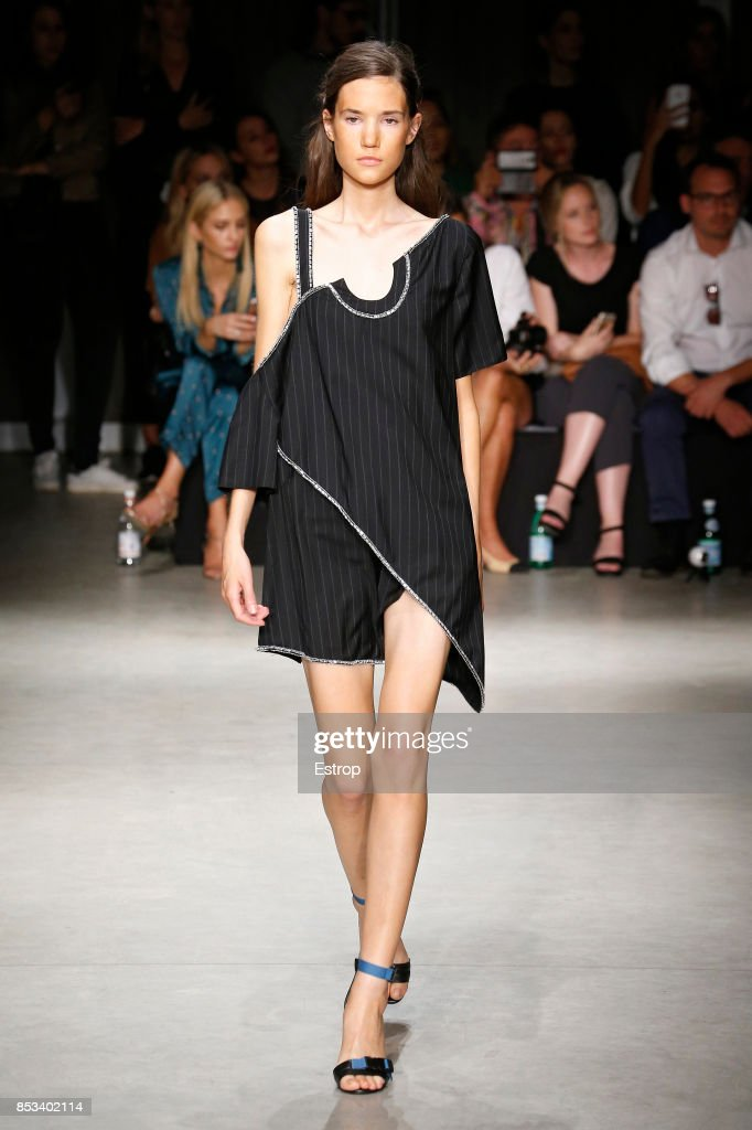 model-walks-the-runway-at-the-au-jour-le-jour-show-during-milan-week-picture-id853402114