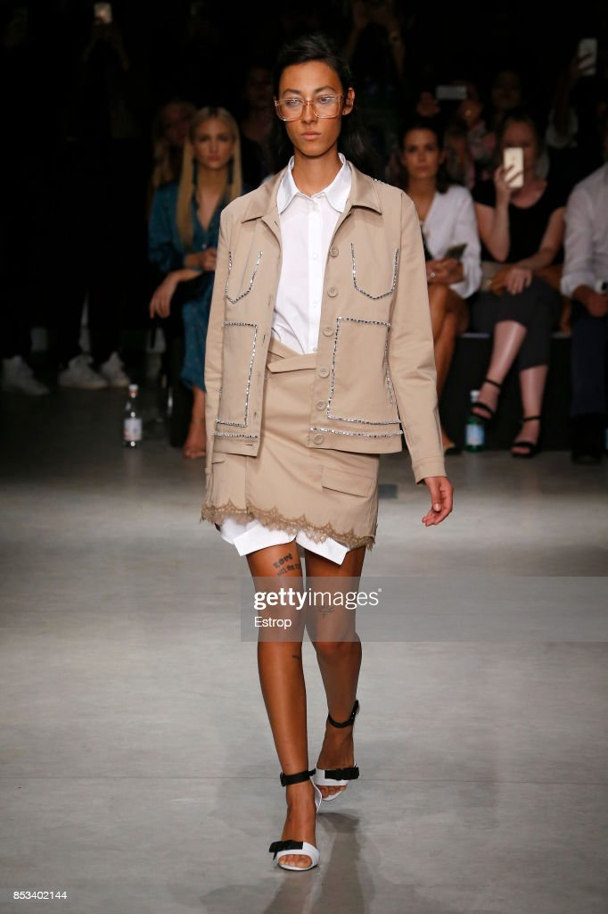 model-walks-the-runway-at-the-au-jour-le-jour-show-during-milan-week-picture-id853402144