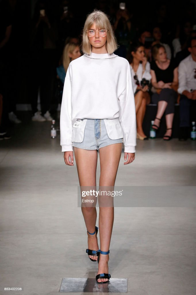 model-walks-the-runway-at-the-au-jour-le-jour-show-during-milan-week-picture-id853402208