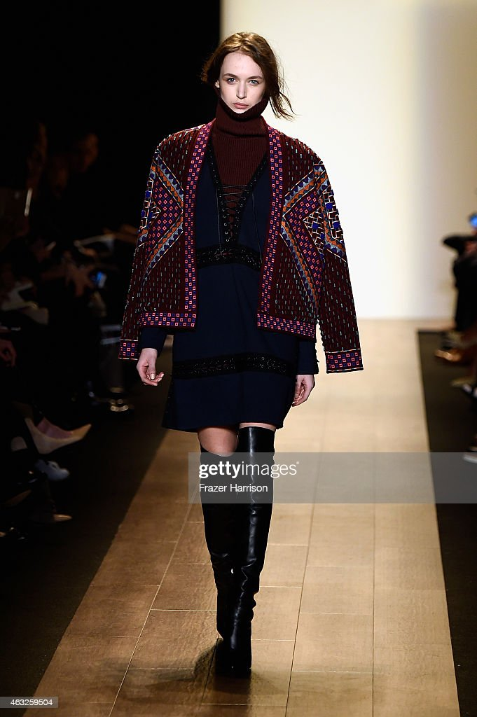 Runway mercedes benz fashion week fall 2015 getty images for Mercedes benz fashion show