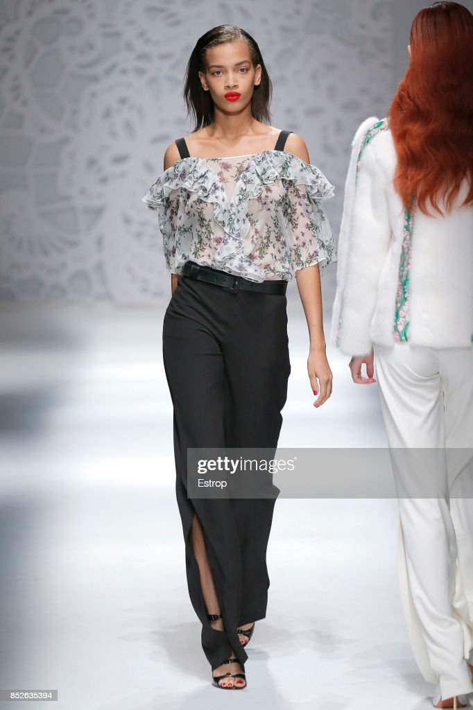 model-walks-the-runway-at-the-blumarine-show-during-milan-fashion-picture-id852635394