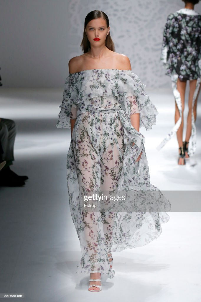 model-walks-the-runway-at-the-blumarine-show-during-milan-fashion-picture-id852635456