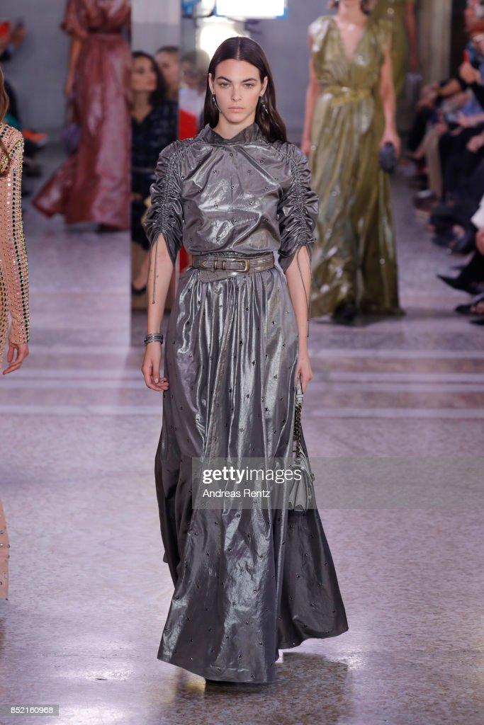 model-walks-the-runway-at-the-bottega-veneta-show-during-milan-week-picture-id852160968