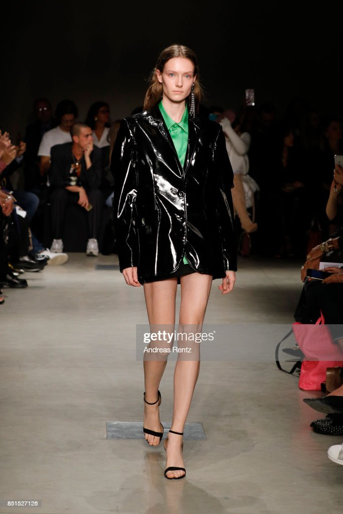 model-walks-the-runway-at-the-brognano-show-during-milan-fashion-week-picture-id851527126