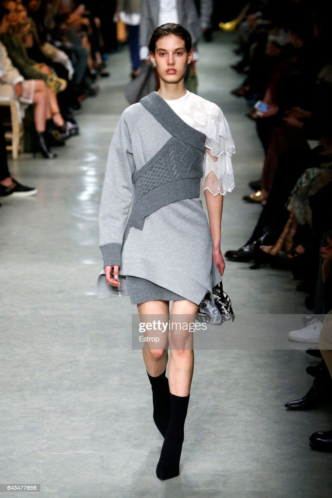 model-walks-the-runway-at-the-burberry-designed-by-christopher-bailey-picture-id643477856