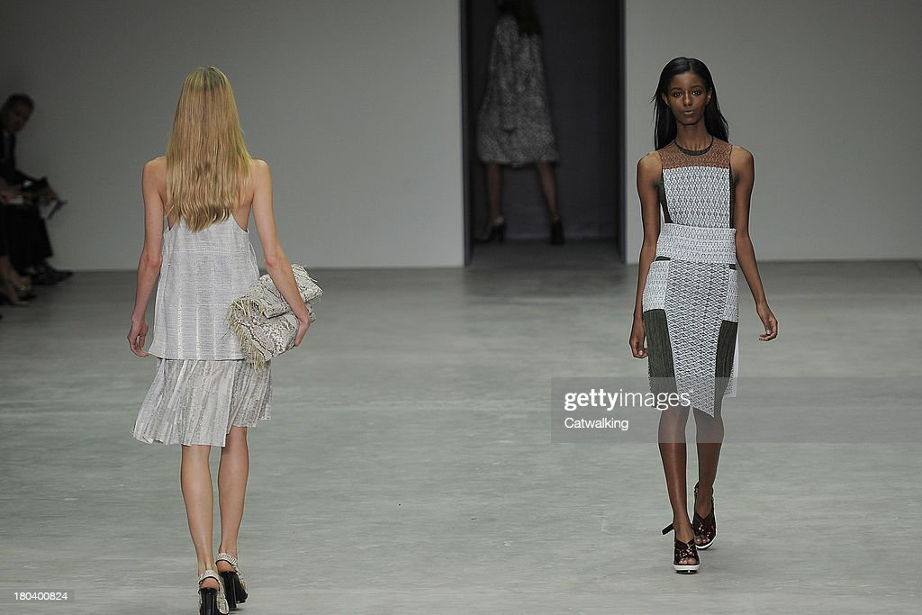 Calvin Klein - Runway RTW - Spring 2014 - New York Fashion Week