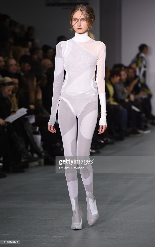 Central Saint Martins Ma Runway Lfw Aw16 Getty Images