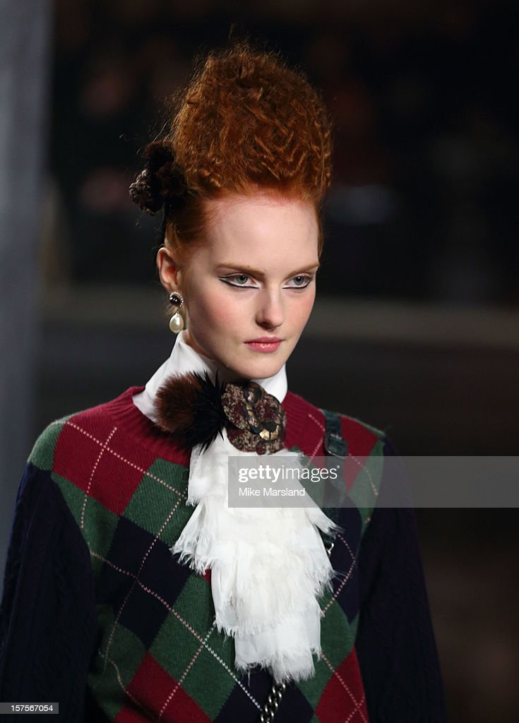 Metiers d'Art fashion show at Linlithgow Palace on December 4, 2012 in Linlithgow, Scotland.