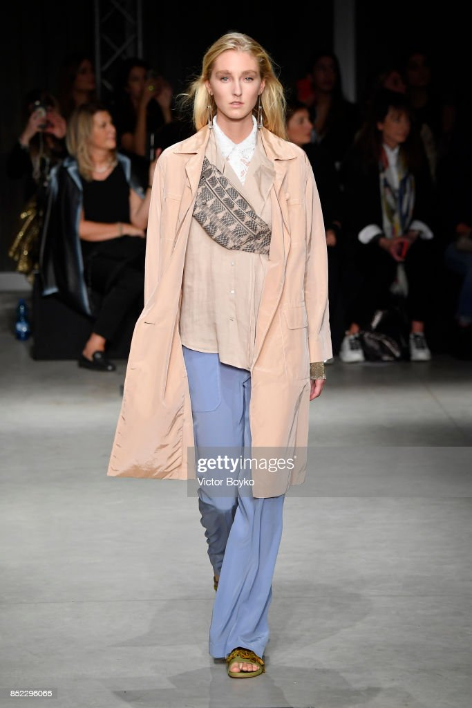 model-walks-the-runway-at-the-cividini-show-during-milan-fashion-week-picture-id852296066