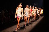 Custo Barcelona - Catwalk - Mercedes Benz Fashion Week...