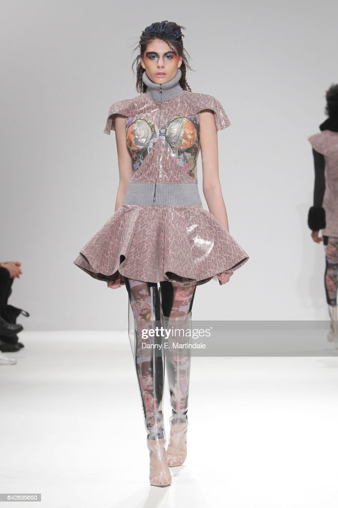 model-walks-the-runway-at-the-dan-la-vie-show-at-fashion-scout-during-picture-id642635650