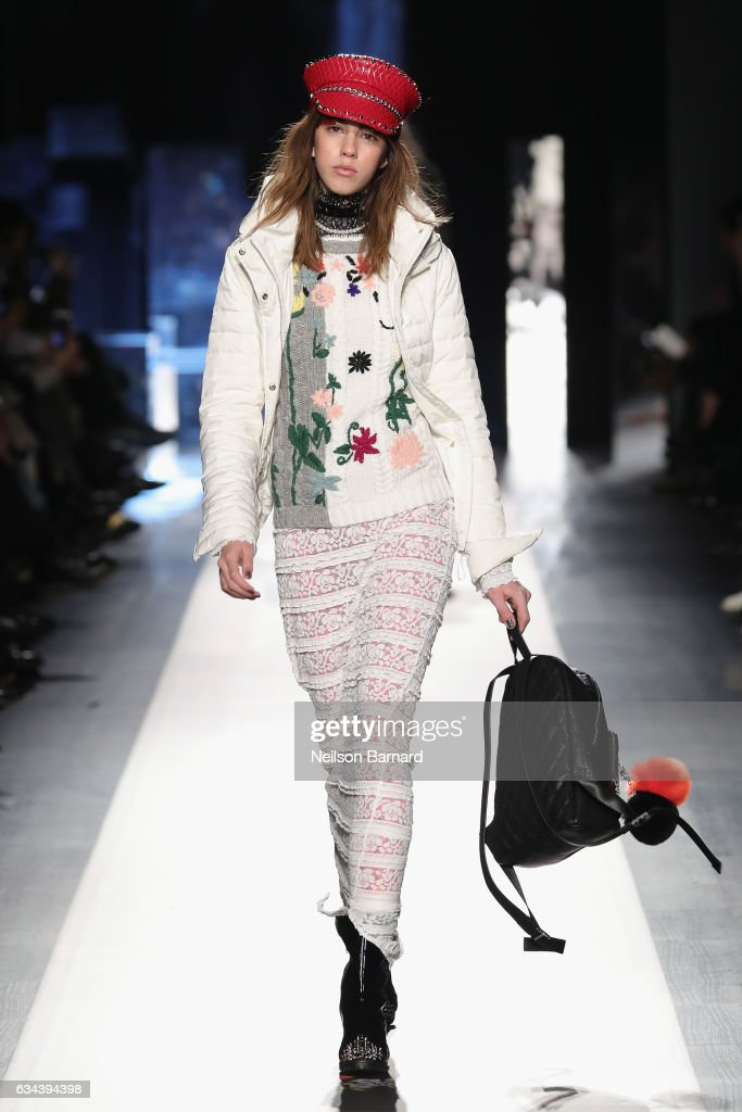 model-walks-the-runway-at-the-desigual-show-new-york-fashion-week-the-picture-id634394398