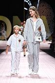 Dolce and Gabbana - Runway - Milan Fashion Week...