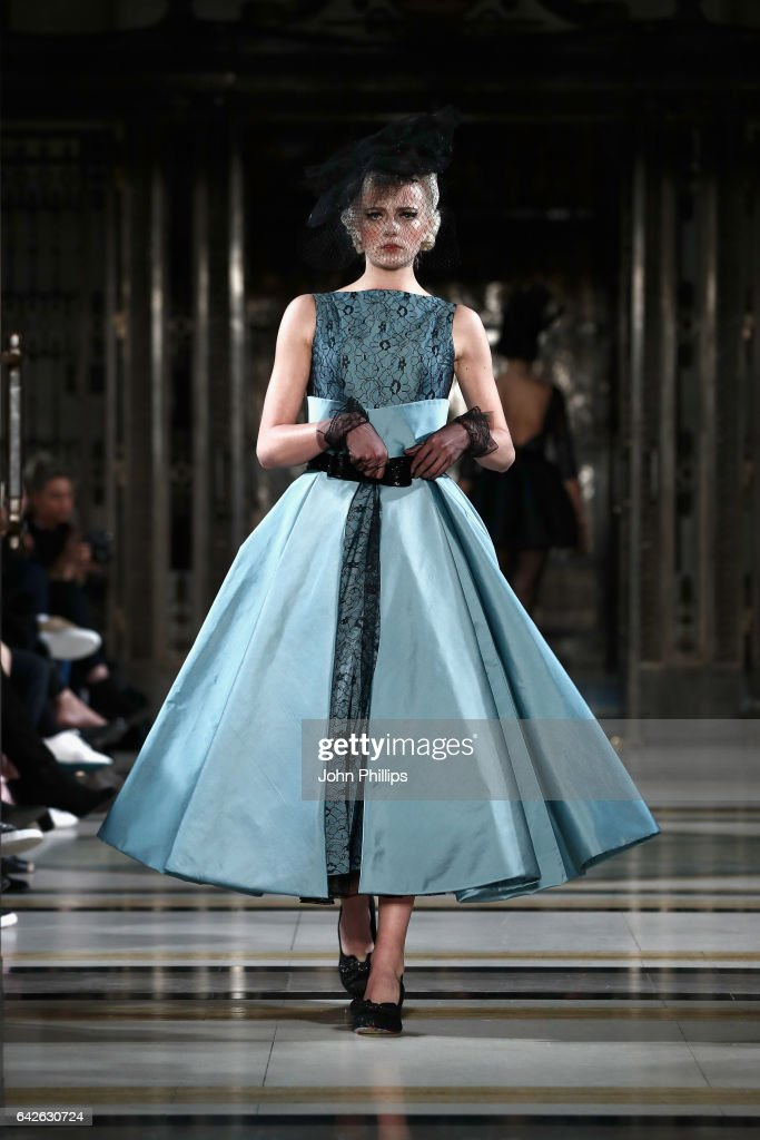 model-walks-the-runway-at-the-dubai-design-fashion-council-show-at-picture-id642630724