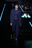 Emporio Armani - Runway - Milan Fashion Week...