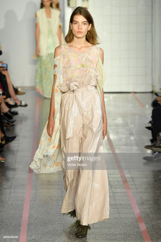 model-walks-the-runway-at-the-erika-cavallini-show-during-milan-week-picture-id850546208