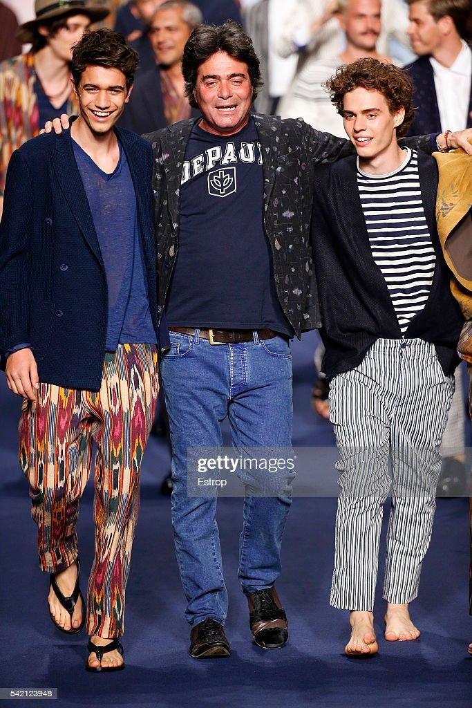Etro - Runway -  Milan Men's Fashion Week SS17