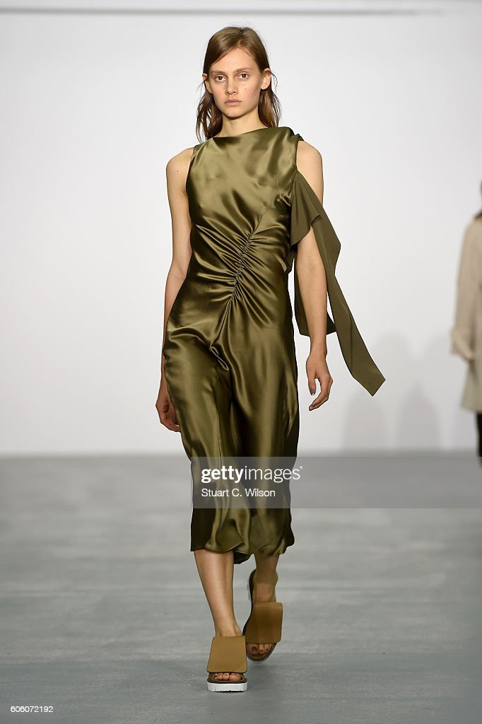 model-walks-the-runway-at-the-eudon-choi-show-during-london-fashion-picture-id606072192