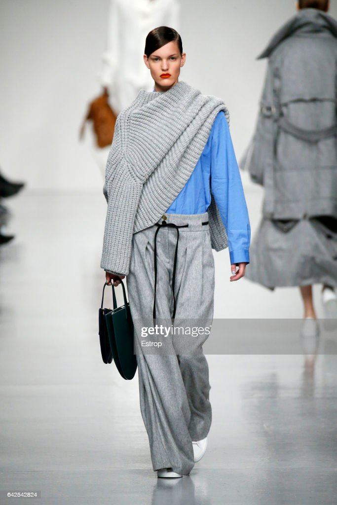 model-walks-the-runway-at-the-eudon-choi-show-during-the-london-week-picture-id642542824