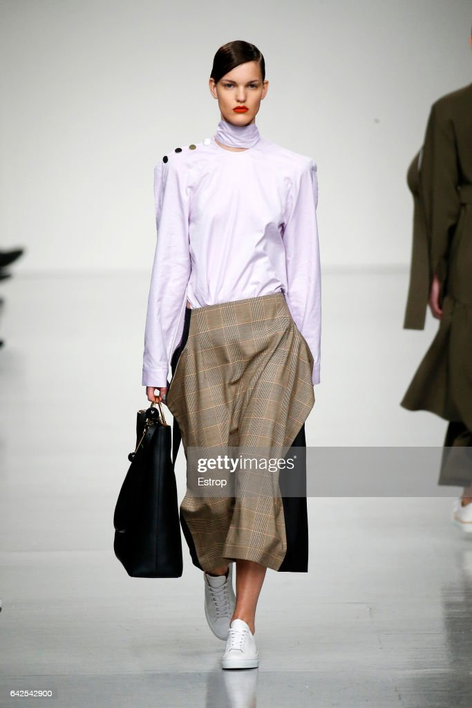 model-walks-the-runway-at-the-eudon-choi-show-during-the-london-week-picture-id642542900