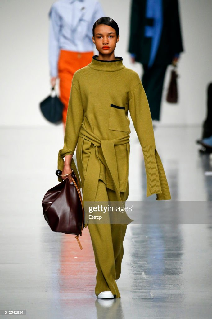 model-walks-the-runway-at-the-eudon-choi-show-during-the-london-week-picture-id642542934
