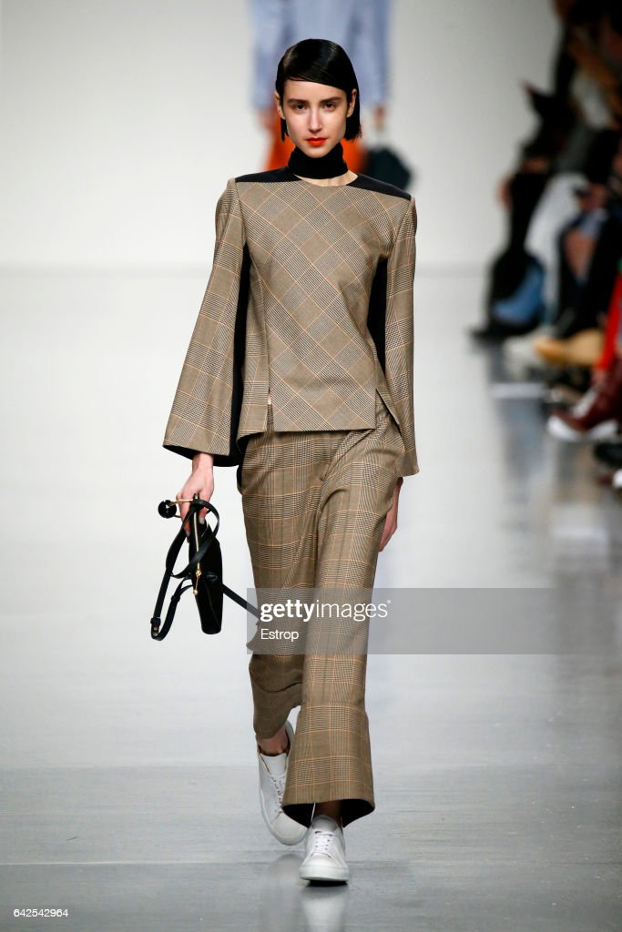 model-walks-the-runway-at-the-eudon-choi-show-during-the-london-week-picture-id642542964