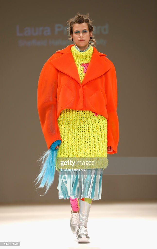 model-walks-the-runway-at-the-fad-show-during-the-london-fashion-week-picture-id643249094