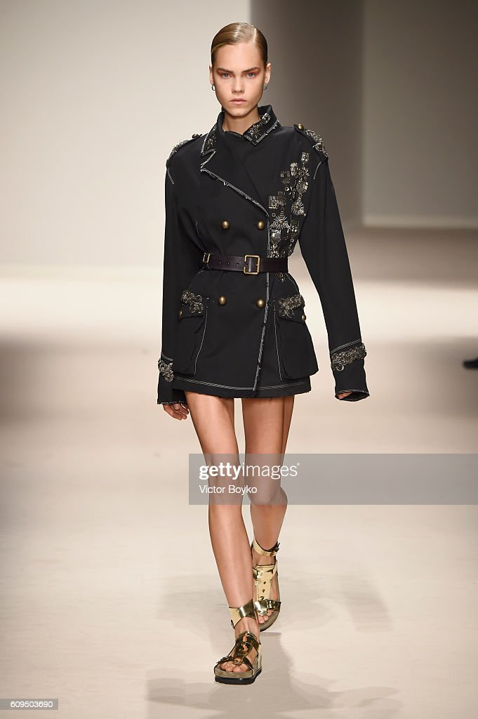 model-walks-the-runway-at-the-fay-show-during-milan-fashion-week-on-picture-id609503690