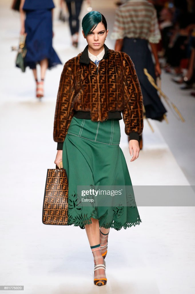model-walks-the-runway-at-the-fendi-show-during-milan-fashion-week-picture-id851775320