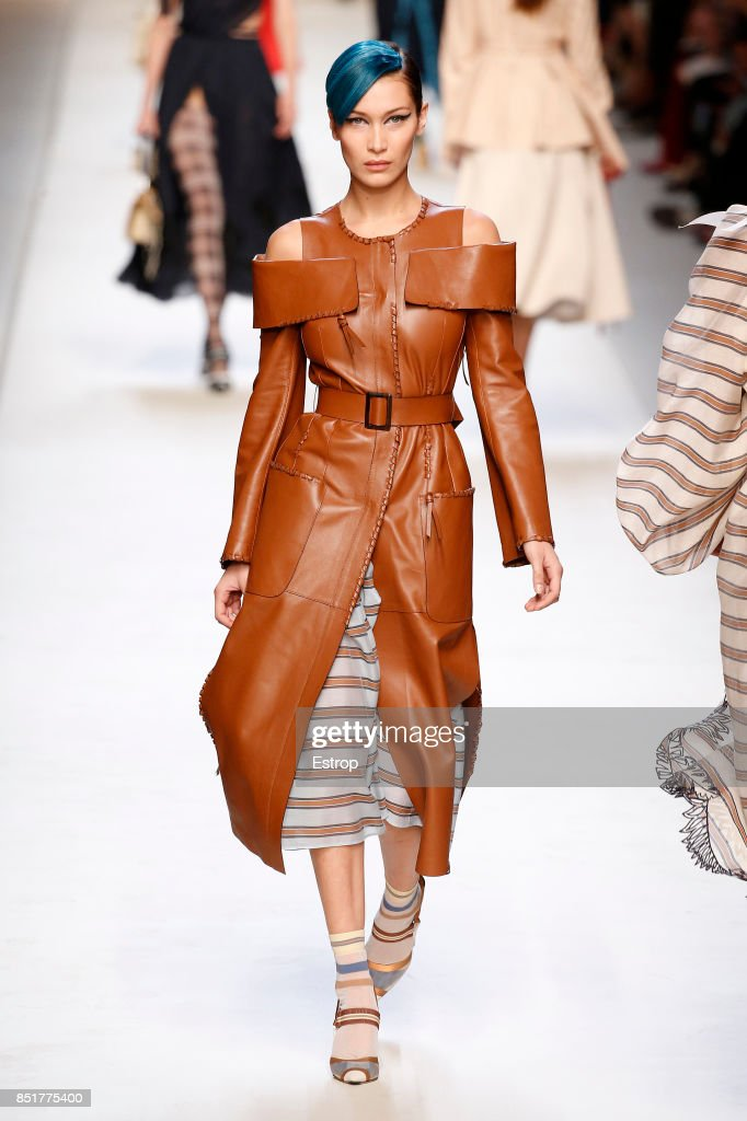model-walks-the-runway-at-the-fendi-show-during-milan-fashion-week-picture-id851775400