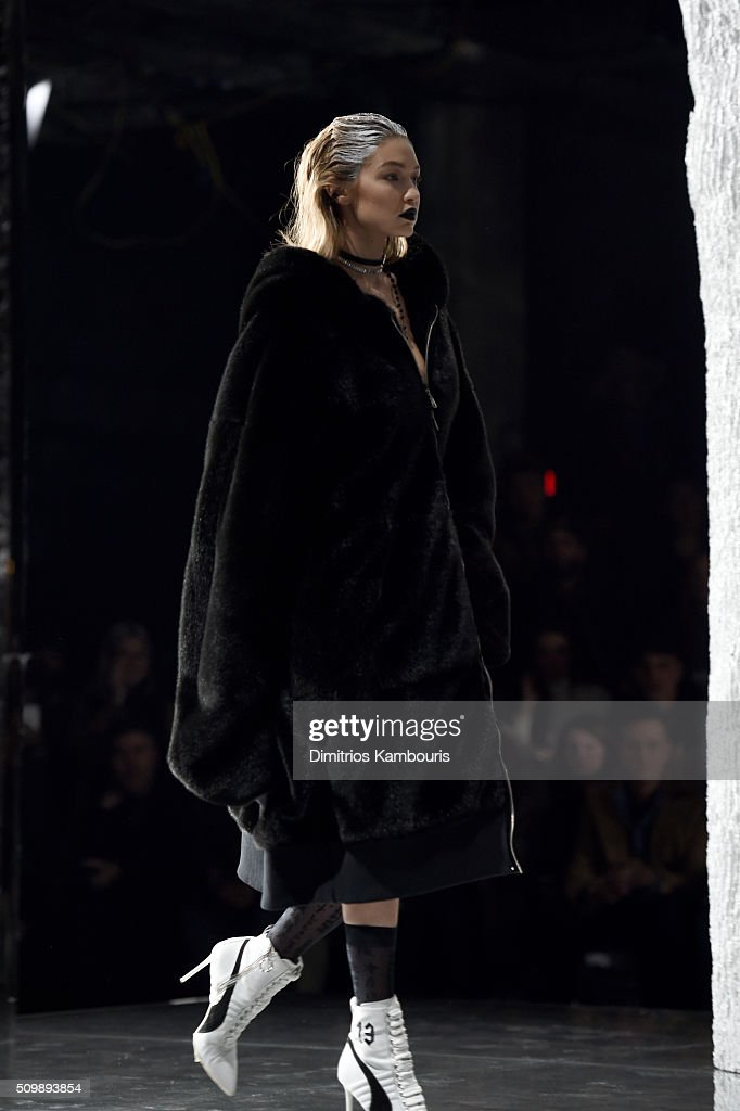 Puma By Rihanna Aw16 Collection Runway Fall 2016 New York Fashion Week Getty Images