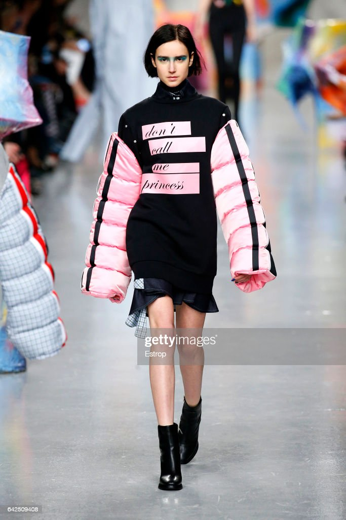 model-walks-the-runway-at-the-fyodor-golan-show-during-the-london-picture-id642509408
