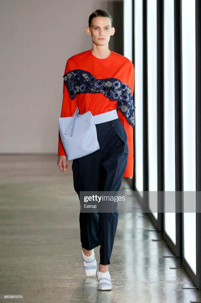 model-walks-the-runway-at-the-gabriele-colangelo-show-during-milan-picture-id852551070