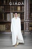 Giada - Runway - Milan Fashion Week - Spring / Summer...