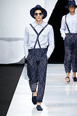 Giorgio Armani - Runway - Milan Men's Fashion Week...