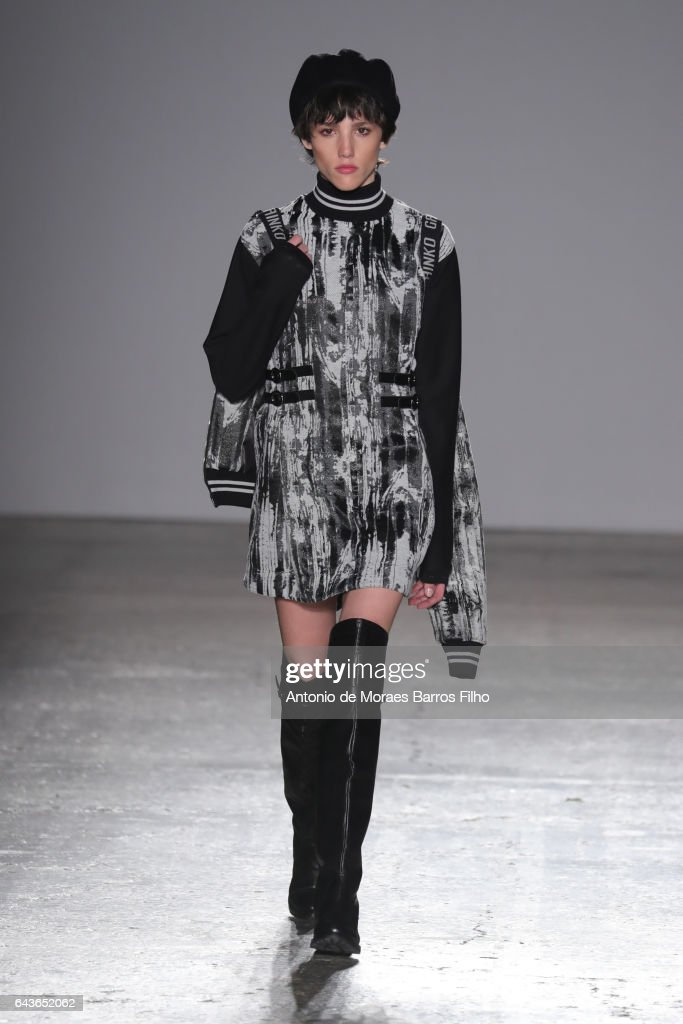 model-walks-the-runway-at-the-grinko-show-during-milan-fashion-week-picture-id643652062