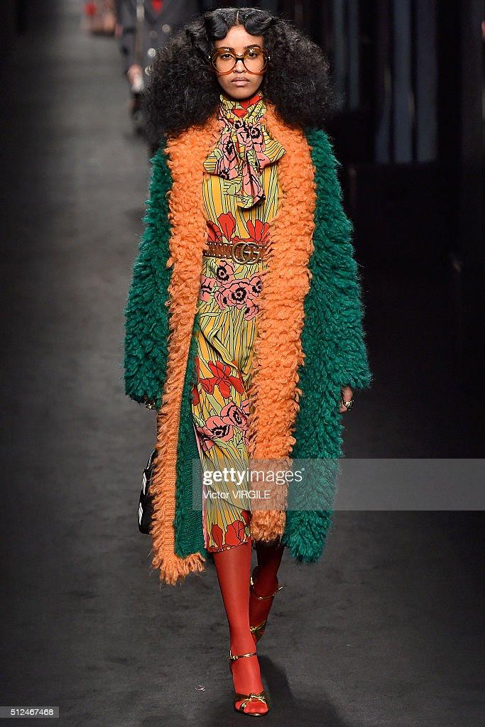 Gucci runway milan fashion week fw16 getty images for Gucci milan fashion week