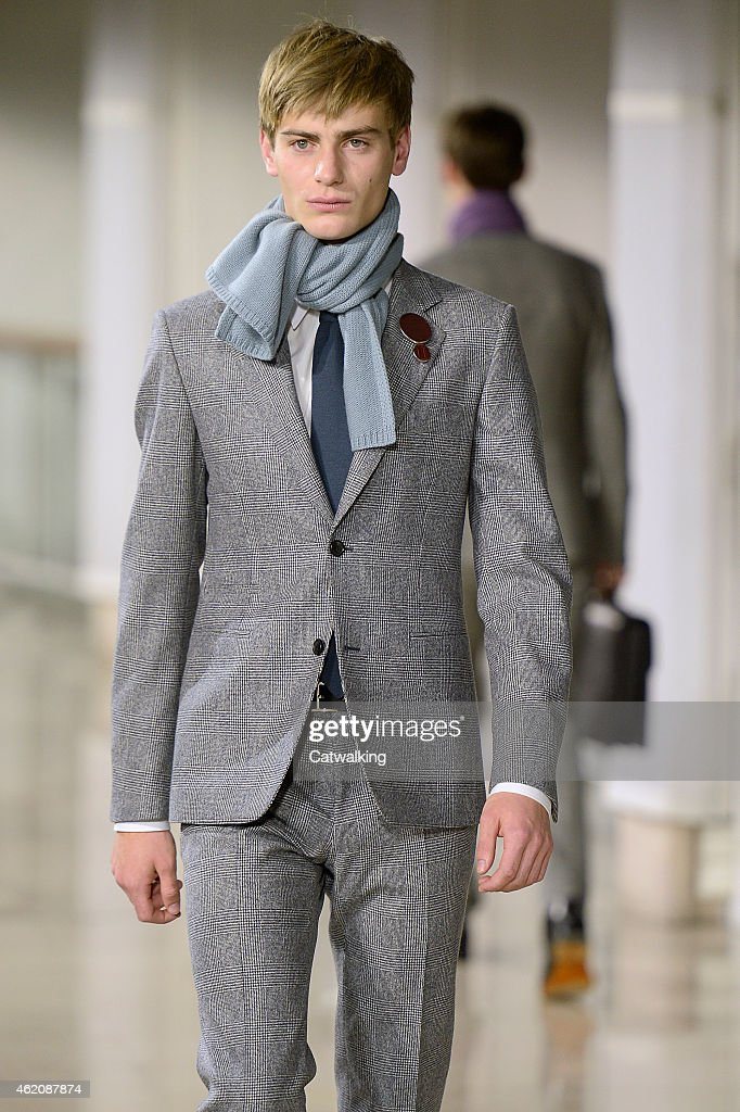 Hermes - Mens Fall 2015 Runway
